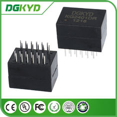 الصين KG2401DR Dip 100/1000 Cat6 Gigabyte Ethernet Transformer Modules، 24 Pins مصنع