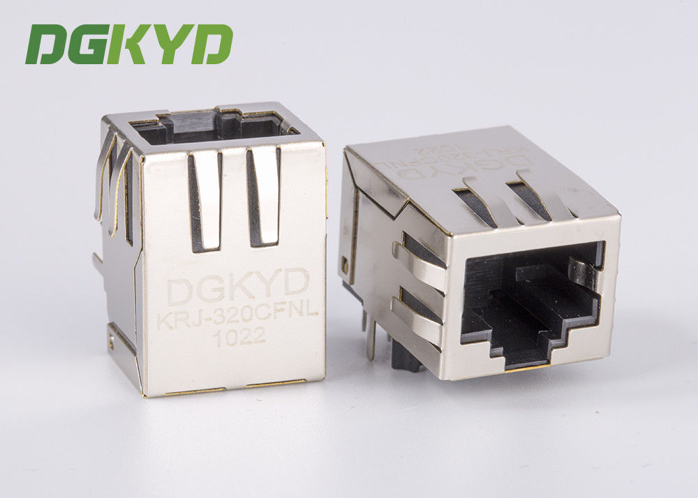 الصين Shield single Port CAT6 RJ45 CONNECTOR، دخول جانبي، 1000BaseT مصنع